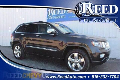 2013 Jeep Grand Cherokee 4WD 4dr Overland Summit